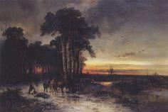La chasse au sanglier by Franz Emil Krause