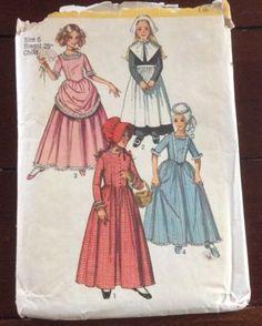 Vintage Shoe Bag Pattern ~ Colonial Girl