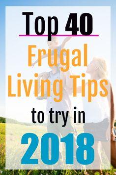 frugal living for beginners, frugal living ideas, frugal living in 2018, save money, how to save money, save money for families #savemoney #moneysavingtips #finances