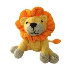 Image result for images of a knit or crochet toy lion's head