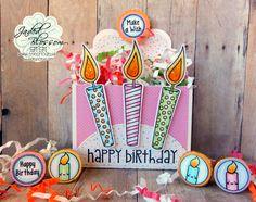 Jaded Blossom November Release Day 2- Birthday Candles Treat Box