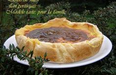 Pastéis de nata, (flan portugais) façon tarte, pour la famille