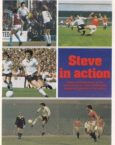 Spurs Captain Steve Perryman in action #THFC