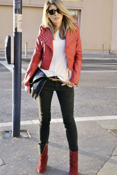 Terranova in Jacket, Zara in Ankle Boots / Booties