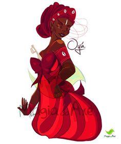 Camiseta Oyá Iansã Oya Goddess, Goddess Warrior, Warrior Queen, Orisha, Yoruba Religion, Yoruba People, Zodiac Stories, Positive Art, Black Panther Marvel
