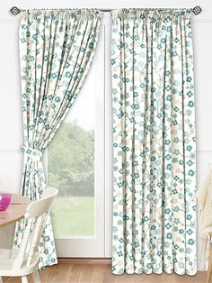 Garland Duck Egg Ready Made Curtains From 2go