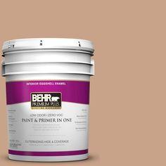 BEHR Premium Plus 5-gal. #S230-4 Granola Eggshell Enamel Interior Paint