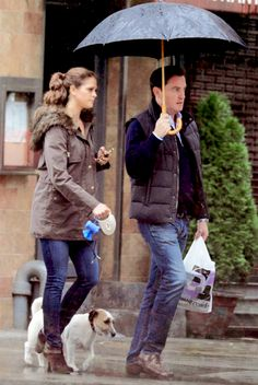 """oneillsofsweden: """"""""Princess Madeleine and Christopher O'Neill out and about in New York with pup Zorro in 2012. """" """""""