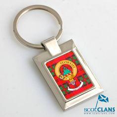 Grant Clan Crest Keyring