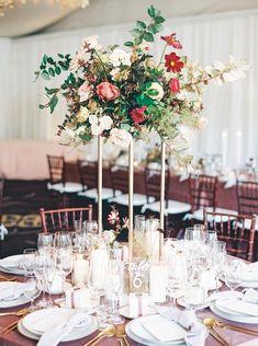Tall Wedding Centerpieces, Destination Wedding Inspiration, Table Decorations, Home Decor, Decoration Home, Room Decor, Home Interior Design, Dinner Table Decorations, Home Decoration