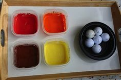 great alternative to marble painting.   golf ball painting
