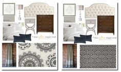 """You may remember last week we played """"Which Rug Did She Choose"""" , I gave two rug options to a client and asked you to guess whic. Dark Brown Leather Sofa, New England Decor, Home Bedroom, Bedrooms, Cape Cod, Painted Furniture, Gray Color, Game, Rugs"""