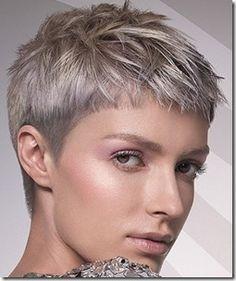 Modern women's short haircuts autumn-winter 2015/2016 season.