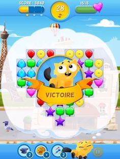J'ai gagné ce niveau de Twaig et il me restait 28 coups ! C'est qui le boss ? #twaig #match3 #jeu #android #ios #facebook #chat