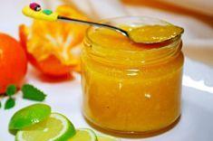 Mandarínkový džem s limetkou Home Canning, Kiwi, Preserves, Herbalism, Smoothie, Food And Drink, Honey, Homemade, Drinks
