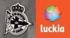 Luckia patrocinará la manga izquierda de la camiseta del Deportivo de la Coruña