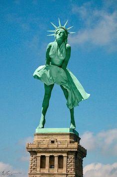La Statue de la Liberté fait son show