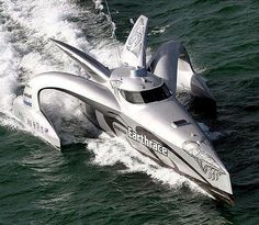 Origami Yacht - Now here is a dramatic sea vessel! The Origami Yacht actually contains walls that fold for a full-on ocean experience. Yacht Design, Boat Design, Fast Boats, Speed Boats, Yacht Boat, Pontoon Boat, Boat Engine, Ex Machina, Motor Boats