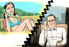 "Don Draper and Megan Draper | How Sad Is Every Character On ""Mad Men"" Now"