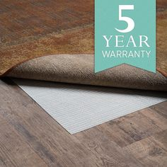 Prevent sliding or add additional comfort with one of our rug pads.