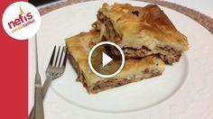 Kıymalı Tepsi Böreği Tarifi | Nefis Yemek Tarifleri: Kıymalı Tepsi Böreği Tarifi #YemekTarifleri #elaçmasıkıymalıbörektarifleri