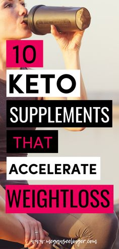 Best Keto Supplements for Women's Weight Loss, Energy and Anxiety Keto Supplements to help women fight fatigue, get faster weight loss results and relieve symptoms of anxiety. What supplements should you take on Keto? Weight Loss Results, Fast Weight Loss, Weight Loss Tips, How To Lose Weight Fast, Losing Weight, Loose Weight, Ketogenic Diet Plan, Ketogenic Diet For Beginners, Diets For Beginners
