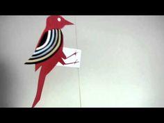 Игрушки из бумаги, которые двигаются - 3 идеи для ребенка
