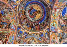 Rila Monastery. Rila Mountains, Bulgaria