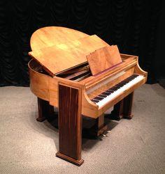 Strohmenger Art Deco Baby Grand Piano | The Antique Piano Shop
