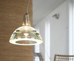 Suspensions 3 ampoules en verre et métal doré
