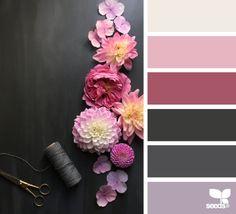 Design Seeds Design Inspiration: flora tones