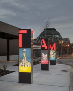 Tacoma Art Museum signage and wayfinding - by Studio Matthews / Core77 Design Awards