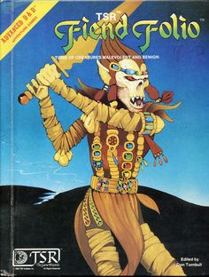 AD&D Fiend Folio ~ 1981