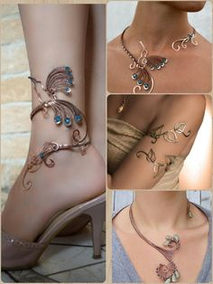 LOVE the details and if they are gold I can love them more I LOVE the detail. -I LOVE the details and if they are gold I can love them more I LOVE the detail. Ankle Jewelry, Cuff Jewelry, Ankle Bracelets, Wire Jewelry, Body Jewelry, Bridal Jewelry, Beaded Jewelry, Unique Jewelry, Jewelery