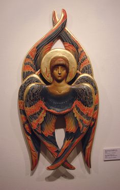 Real Angels, Angels And Demons, Christian Symbols, Christian Art, Byzantine Art, Byzantine Icons, Archangel Raphael, Raphael Angel, Seraph Angel