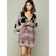 Free Peole Marla Dream dress Worn once. Free People Tops Tunics