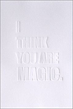 i think you are magi