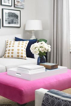 Classic Home Update: Ottoman Tables Interior Inspiration