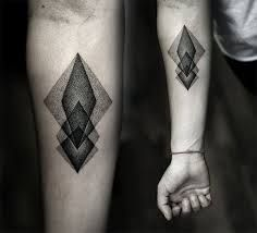 mens geometric tattoos - Google Search