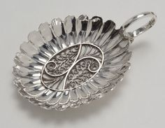 A George III Caddy Spoon by SAMUEL PEMBERTON OF BIRMINGHAM - Peter Cameron Antique Silver
