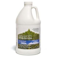 Seventh Generation 22701 Chlorine Free Bleach - Free and Clear - Case of 6 - Housewares