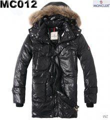 fbc999c747a Légère Doudoune Moncler homme Noir Fur Collars