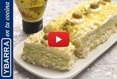 Receta fácil de pastel de pollo y aguacate | Ybarra en tu cocina Avocado Pie, Barbacoa, Canapes, Empanadas, Salmon, Buffet, Dips, Sandwiches, Appetizers