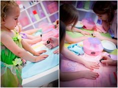 Colorful Spa Fairy Party! Perfect for little girls turning 5 or 6