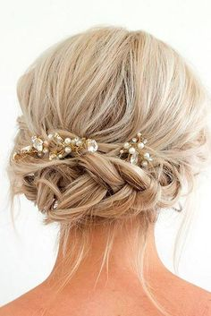 wedding hair hair styles long hair down hair boho wedding hair hair guest for wedding hair hair styles medium hair curly Prom Hairstyles For Short Hair, Evening Hairstyles, Short Hair Updo, Wedding Hairstyles For Long Hair, Wedding Hair And Makeup, Tousled Hair, Long Haircuts, Hair Makeup, Trendy Hairstyles