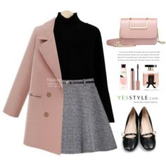 couponing A fashion look from September 2016 by yexyka featuring Sugar Town, BeiBaoBao, Victoria's Secret, Innisfree, yesstyle and prefall Cute Casual Outfits, Pretty Outfits, Stylish Outfits, Teen Fashion Outfits, Fall Outfits, Girl Fashion, Fashion Tips, Mein Style, Mode Chic