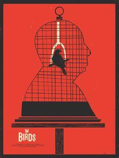 Hommage à Alfred Hitchcock - Les affiches réinventées, volume III : les minimalistes - Dossier Cinéma - AlloCiné