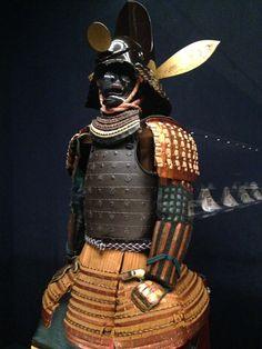 Gusoku probably from 結城 秀康 Yūki Hideyasu (1574 – 1607). 結城秀康のものと伝えられる鎧兜