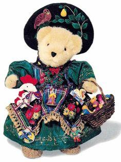 NABCO WDW Peddler 1997* Muffy Vanderbear [04-5252] - $168.75 : Village Bears, Your Friendly Bear Store