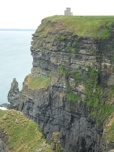 View of Cliffs of Moher with Tower